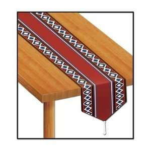 Printed Western Table Runner Party Accessory (1 count) (1