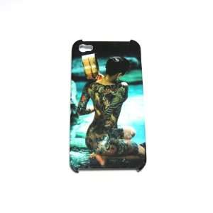 Tattoo Ghost Girl lady Art Painting picture Dull polish Case Cover For