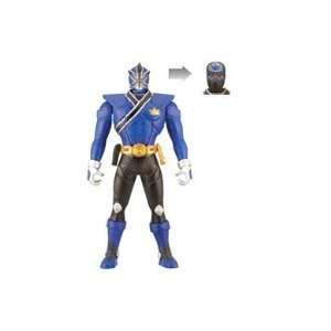 Power Rangers Samurai 16cm Switch Morphin Figure   Blue Ranger