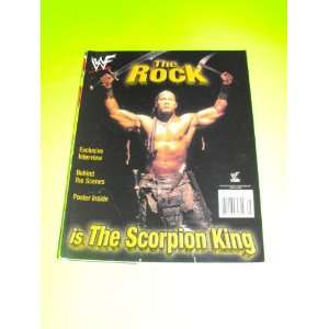 The Rock The Scorpion King (WWF   WWE Magazine Special