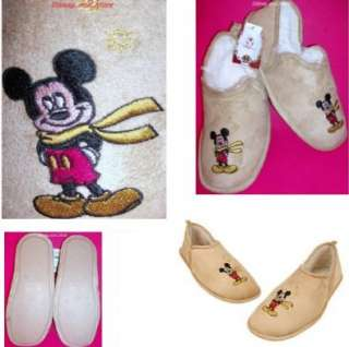DISNEY MICKEY MOUSE SLIPPERS FOR CHRISTMAS HOLIDAYS Men