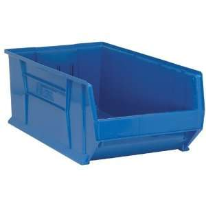 Large Stacking Plastic Bin Container   QUS975   29 7/8 x
