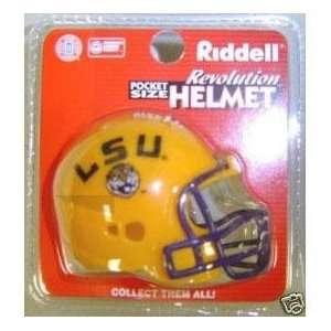LSU Tigers Riddell Pocket Pro Sports & Outdoors
