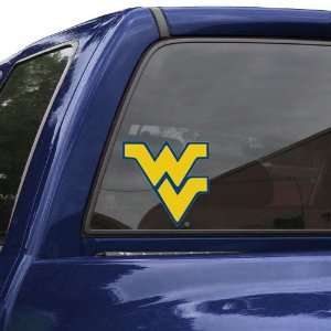 NCAA West Virginia Mountaineers 8 Color Team Logo Car