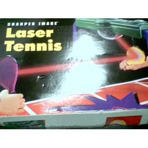, Ltd. Tiger Electronics SHARPER IMAGE LASER TENNIS Electronic Game