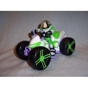 Riding Pull & Go Rocket Blaster ATV 4 Wheeler