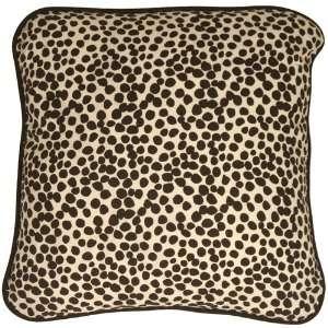Pillow Decor   Deer Print Cotton Large Throw Pillow