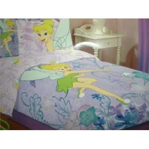 Fairies Tinkerbell Embroidered 6 Piece Twin Bed Set Home & Kitchen