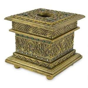 Gilded tissue box, Grand Castle  Home & Kitchen