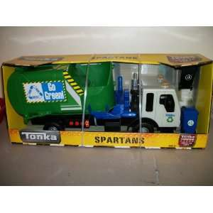 Tonka Spartans Recycle Truck   Lights & Sound   moveable