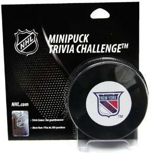 Alary Games New York Rangers Trivia Puck Game