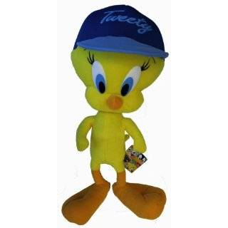 Looney Tunes Tweety Bird Stuffed Plush Toy 20  Toys & Games