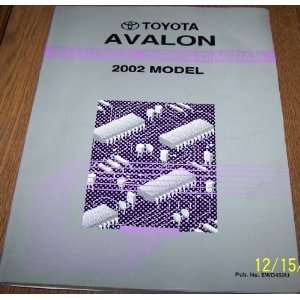2002 Toyota Avalon Electrical Wiring Diagram Toyota Motor
