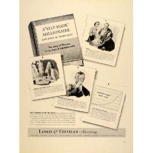 1939 Ad Lord & Thomas Advertising Agency Kleenex Story