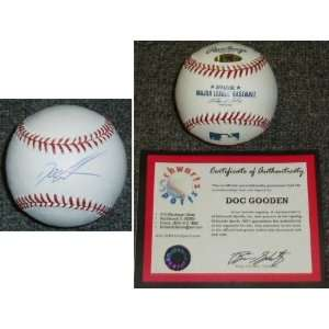 Doc Gooden Signed MLB Baseball