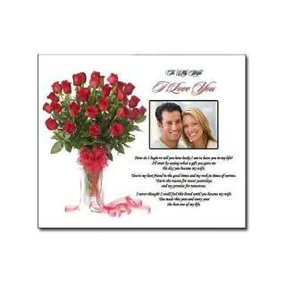 Anniversary I Love You Gift for Wife or Birthday Gift for Wife