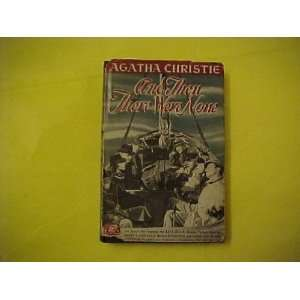 And Then There Were None Agatha. Christie Books