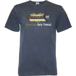 Milwaukee Brewers Stylin Mens T Shirt
