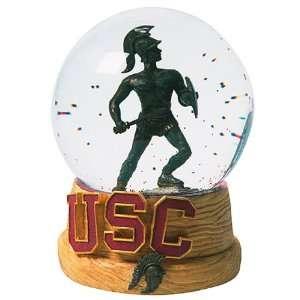 Treasures USC Trojans Musical Snow Globe Sports