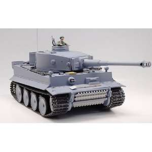 RC German Tiger I Tank Remote Control w/ Sound and Smoke: Toys & Games