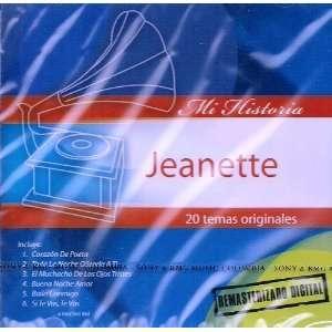 Mi Historia   20 Temas Originales Jeanette Music