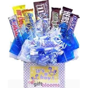 Its a Boy or Girl Chocolate Bar Candy Bouquet