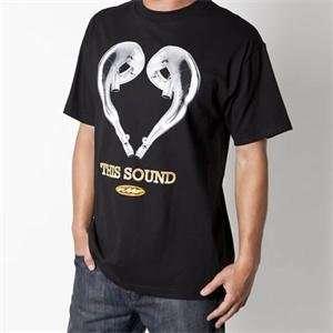 FMF Apparel Love This Sound T Shirt   Large/Black Automotive