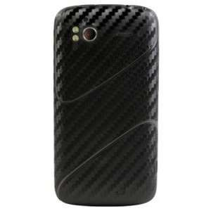 HTC Sensation Carbon Fiber armor(Black) Full Body Protection + Screen