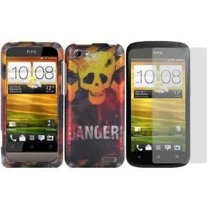 Danger Design Hard Case Cover+LCD Screen Protector for Virgin Mobile