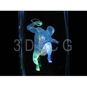 Spider Man S 1 3D Laser Etched Crystal: Everything Else