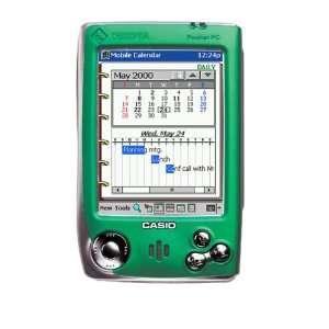 Casio Cassiopeia EM 500 Color Pocket PC (Green