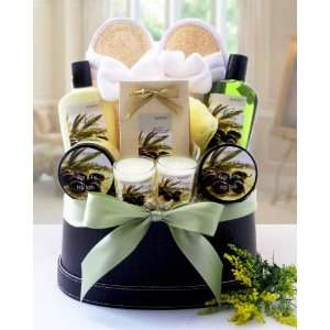 Valentines Day Healing Therapy Spa Gift Basket Everything