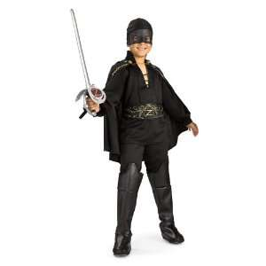 (Size 12 14, 8 10 Yrs) Legend of Zorro Costume (Sword not included