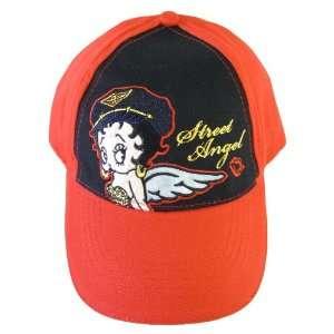 Betty Boop Angel Baseball Hat   Betty Boop Street Angel Baseball Cap
