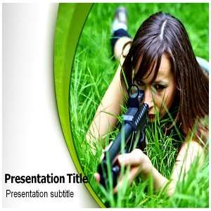 Sniper Powerpoint Template   Sniper Powerpoint (PPT