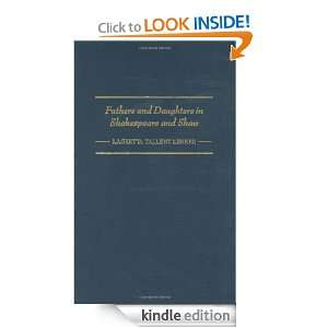 Fathers and Daughters in Shakespeare and Shaw (Contributions in Drama