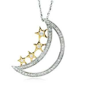 Journey of Dreams 14k Gold and Diamond Pendant Deborah