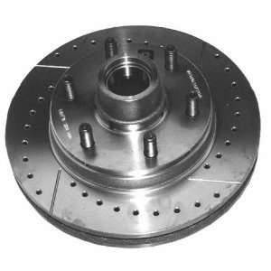 Aimco Extreme 55026RX Severe Duty Right Front Disc Brake Rotor and Hub