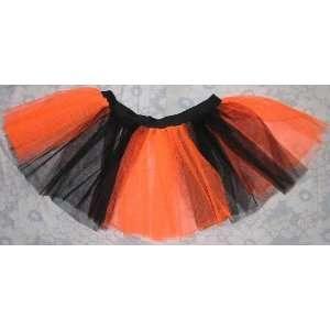 Orange Tutu Skirt Petticoat Punk Rave Dance Fancy Dress Costume Party
