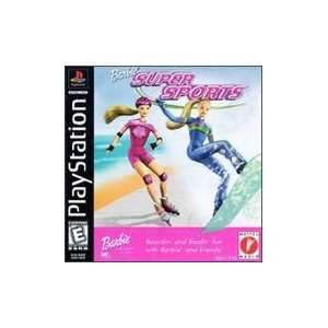 Playstation Barbie SUPER SPORTS Video Games