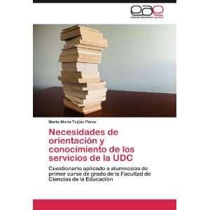 Necesidades de orientación y conocimiento de los servicios de la UDC