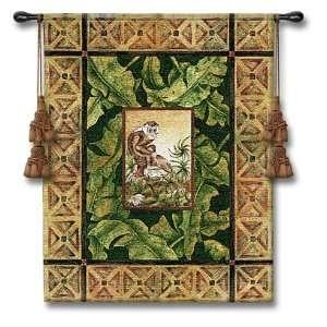Maraca Mulata I Monkey Tapestry Wall Hanging  Home