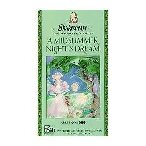 Midsummer Nights Dream [VHS]: Movies & TV