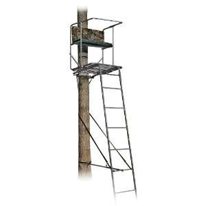 Guide Gear Big Man 16 Ladder Stand Black Non reflective