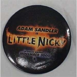 LITTLE NICKY MOVIE BUTTON ADAM SANDLER