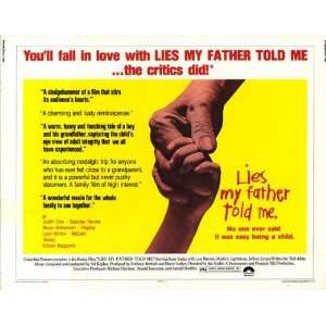 Lies My Father Told Me Movie Poster (11 x 14 Inches   28cm