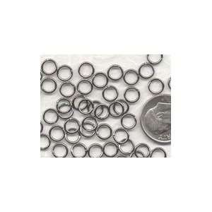 Gun Metal Plated 6mm Open Jump Rings Arts, Crafts