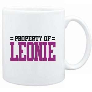 Mug White  Property of Leonie  Female Names  Sports
