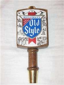 Vintage Heilemans OLD STYLE BEER Wooden Tapper