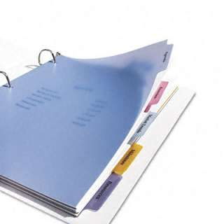 AVERY DENNISON 11452 Index Maker Clear Label Punched Dividers